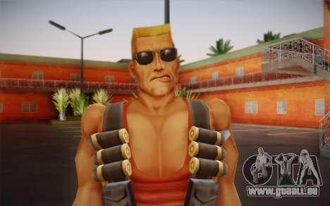 Duke Nukem pour GTA San Andreas troisième écran
