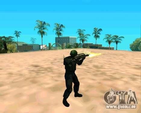 Jackhammer de Max Payne pour GTA San Andreas cinquième écran