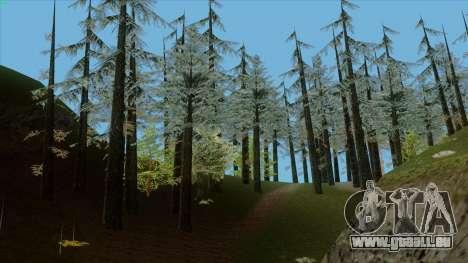 Der Dichte Wald v2 für GTA San Andreas her Screenshot