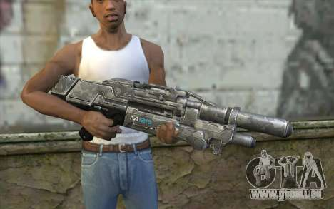 Sabre pour GTA San Andreas troisième écran