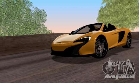 McLaren 650S Spyder 2014 pour GTA San Andreas