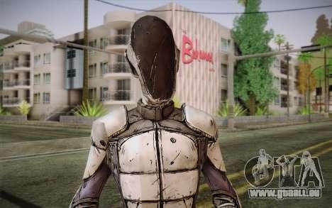 Zéro из Borderlands 2 pour GTA San Andreas troisième écran