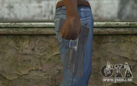 Desert Eagle from Modern Warfare 2 pour GTA San Andreas troisième écran
