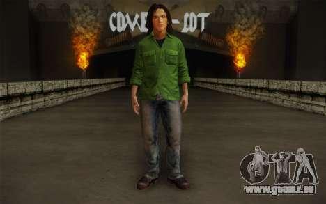 Sam Winchester из Surnaturel pour GTA San Andreas