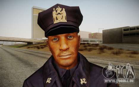 Policeman from Alone in the Dark 5 für GTA San Andreas dritten Screenshot