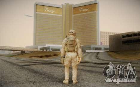 Les soldats de la Black Ops 2 pour GTA San Andreas deuxième écran