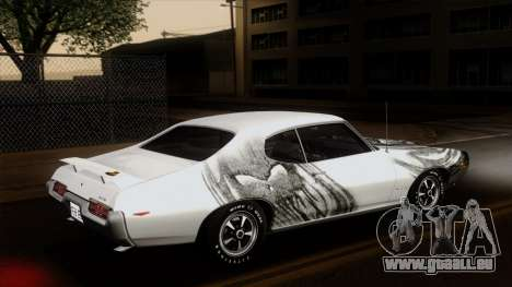 Pontiac GTO The Judge Hardtop Coupe 1969 für GTA San Andreas Unteransicht