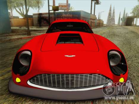 Aston Martin DB4 Zagato 1960 für GTA San Andreas Rückansicht