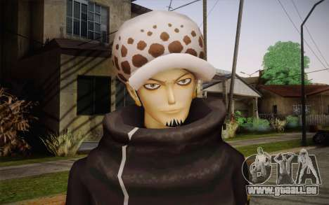 One Piece Trafalgar Law für GTA San Andreas dritten Screenshot