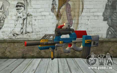 P90 MC Latin 3 from Point Blank pour GTA San Andreas