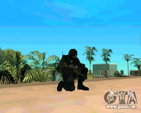 Jackhammer de Max Payne pour GTA San Andreas quatrième écran