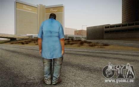 Dicker Ehegatte pour GTA San Andreas deuxième écran