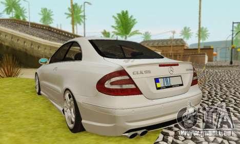 Mercedes-Benz CLK55 AMG 2003 pour GTA San Andreas roue