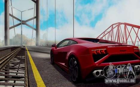 ENBSeries pour les faibles PC v2 [SA:MP] pour GTA San Andreas sixième écran