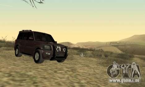 Mahindra Scorpio für GTA San Andreas linke Ansicht