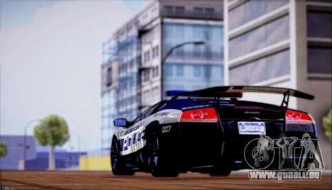 Lamborghini Critiques LP670-4 SuperVeloce, 2010 pour GTA San Andreas vue de droite