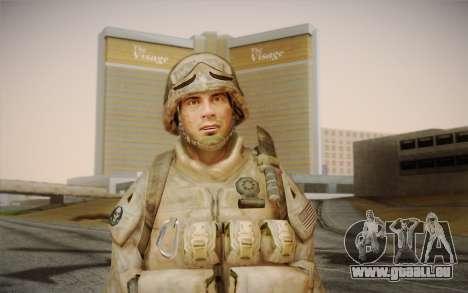 Soldaten aus dem Black Ops 2 für GTA San Andreas dritten Screenshot
