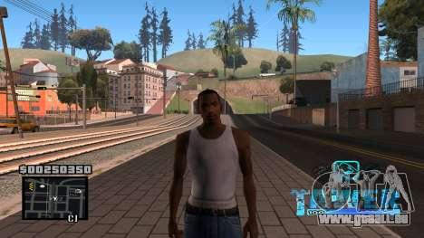 C-HUD Tawer für GTA San Andreas