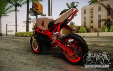 Kawasaki Zx6r Ninja für GTA San Andreas linke Ansicht