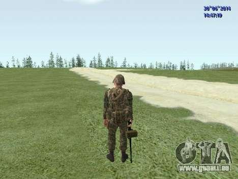 Die Kämpfer der Russischen Armee für GTA San Andreas achten Screenshot