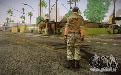 Corporal VDV für GTA San Andreas zweiten Screenshot