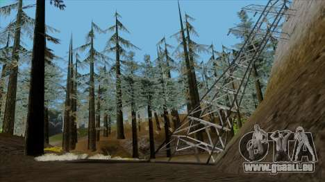 Der Dichte Wald v2 für GTA San Andreas
