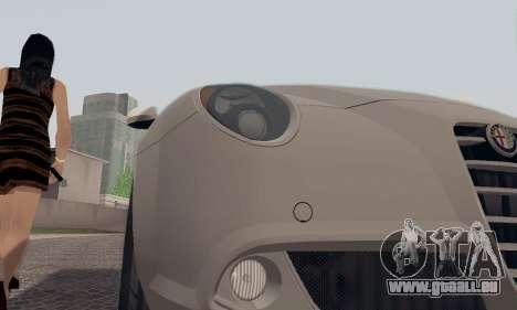 Afla Romeo Mito Quadrifoglio Verde für GTA San Andreas Räder