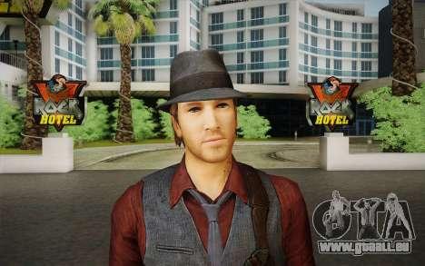 Ronan O'Connor из Murdered: Soul Suspec pour GTA San Andreas troisième écran