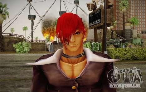 Iori Yagami pour GTA San Andreas troisième écran
