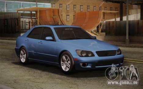 Lexus IS300 2003 pour GTA San Andreas