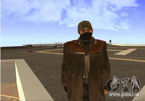 Aiden Pearce pour GTA San Andreas cinquième écran