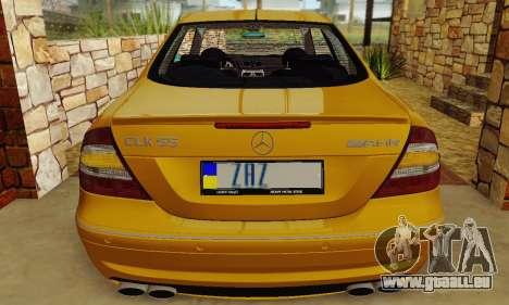 Mercedes-Benz CLK55 AMG 2003 für GTA San Andreas Seitenansicht
