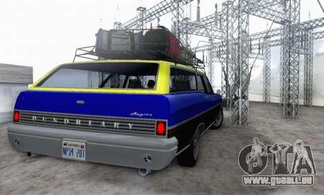 Dundreary Regina V1.0 pour GTA San Andreas vue intérieure
