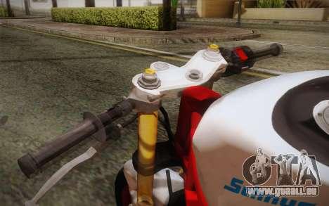 Kawasaki Zx6r Ninja für GTA San Andreas rechten Ansicht