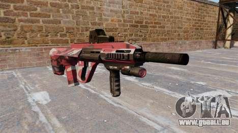Maschine Steyr AUG A3 Red urban für GTA 4