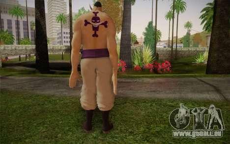 One Piece Whitebeard Edward Newgate pour GTA San Andreas deuxième écran