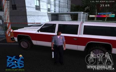 С-HUD Adidas für GTA San Andreas dritten Screenshot