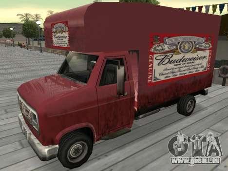 La nouvelle publicité sur les voitures pour GTA San Andreas onzième écran