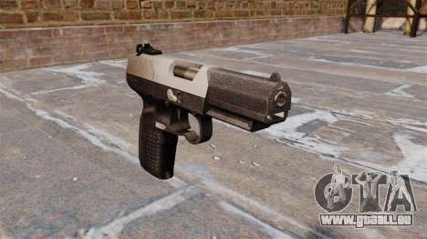 Pistole FN Five seveN Chrom für GTA 4
