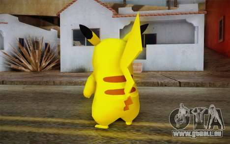 Pikachu pour GTA San Andreas deuxième écran