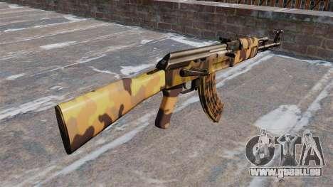 L'AK-47 de l'Automne pour GTA 4 secondes d'écran