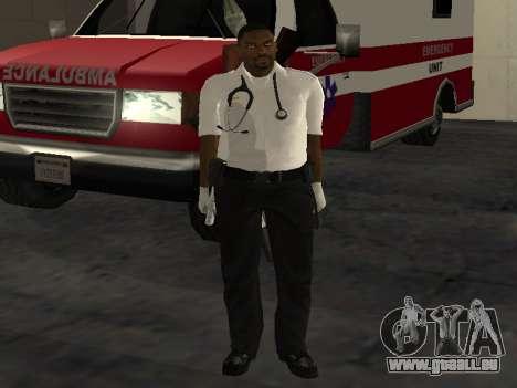 Pack Medic pour GTA San Andreas huitième écran