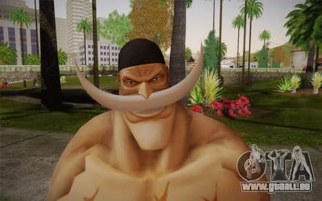One Piece Whitebeard Edward Newgate pour GTA San Andreas troisième écran