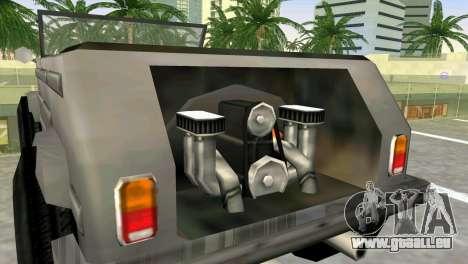 Volkswagen Kuebelwagen pour GTA Vice City sur la vue arrière gauche