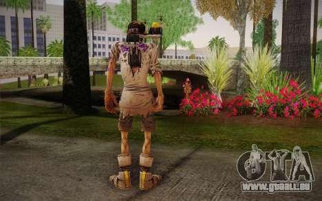 Le professeur Nakayama 2 из Borderlands pour GTA San Andreas deuxième écran