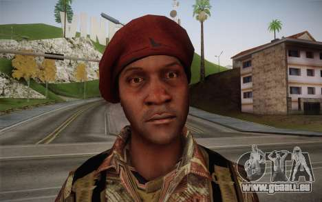 U.S. Soldier v2 für GTA San Andreas dritten Screenshot