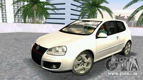 Volkswagen Golf V GTI für GTA Vice City
