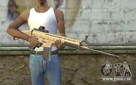 SCAR-L Custom für GTA San Andreas dritten Screenshot