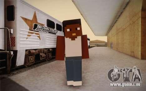 Cj Minecraft pour GTA San Andreas