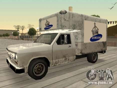 La nouvelle publicité sur les voitures pour GTA San Andreas dixième écran